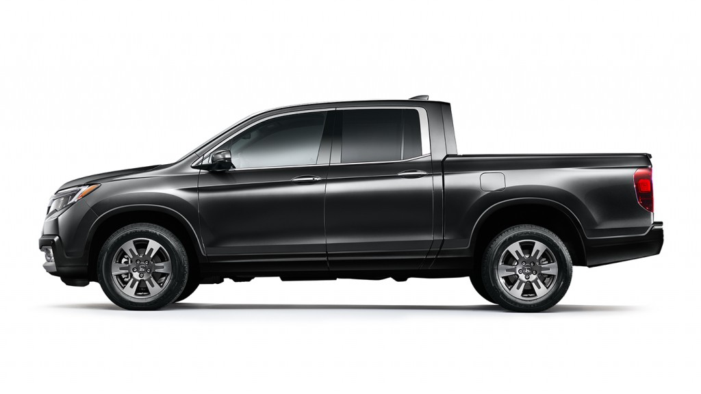 ... Ridgeline would surely take it home. The 2017 Honda Ridgeline is a