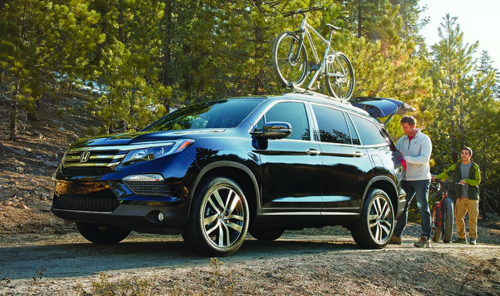 all-new Honda Pilot